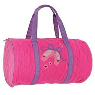 Toddler quilted duffle | Ballet quilted duffle