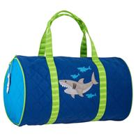 QUILTED DUFFLE SHARK
