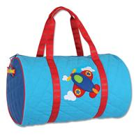 Toddler quilted duffle | Airplane quilted duffle