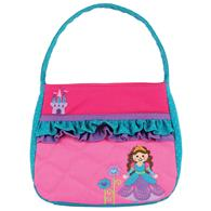 QUILTED PURSE PRINCESS/CASTLE (F16)