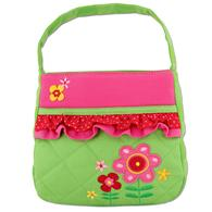 Toddler quilted purses | Flower quilted purse