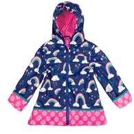 ALL OVER PRINT RAINCOAT  RAINBOW 2T (F18)