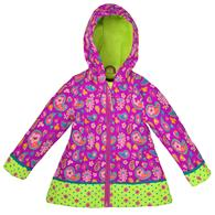 ALL OVER PRINT RAINCOAT  PAISLEY GARDEN 2T (S17)