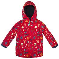 ALL OVER PRINT RAINCOAT  SPORTS 6/6X (S17)