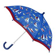 ALL OVER PRINT NAUTICAL UMBRELLA (S17)