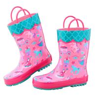 ALL OVER PRINT RAINBOOTS PRINCESS SZ8 (S17)