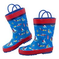 ALL OVER PRINT RAINBOOTS NAUTICAL SZ10 (S17)