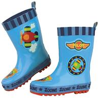 RAINBOOTS  AIRPLANE SZ 6 (S16)