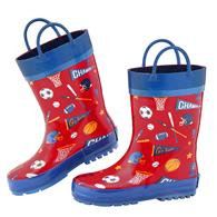 ALL OVER PRINT RAINBOOTS SPORTS SZ10 (S17)